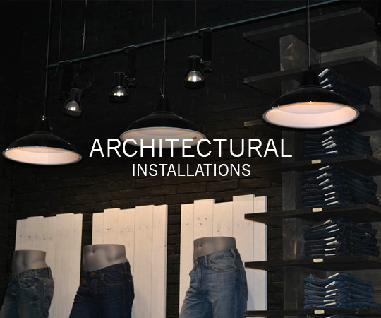 Architectural Lighting Installations