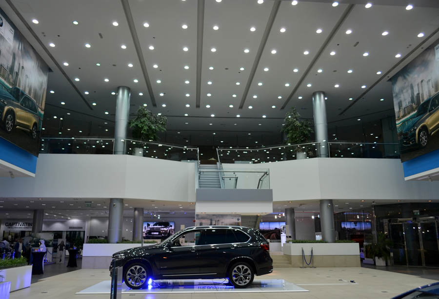 BMW Showroom – Sheikh Zayed Road – Dubai